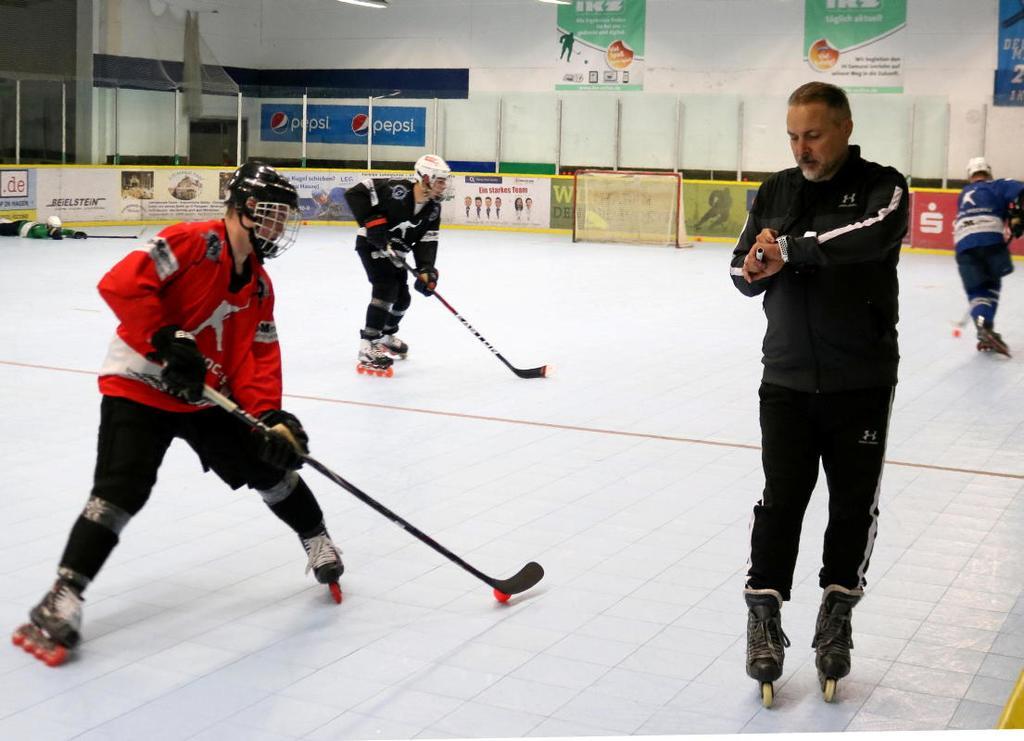 Toni Fonso hat etwas mehr Zeit, um die IH Samurai auf die Bundesliga vorzubereiten.